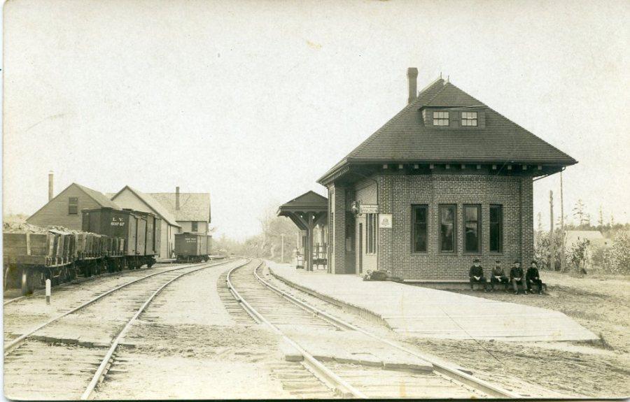 west minot rail station